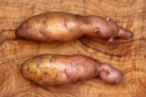 Bamberger Hörnchen Kartoffeln