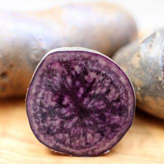 Blaue St Galler Kartoffel