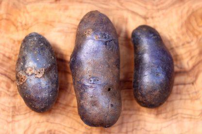 Blaue St Galler Kartoffeln
