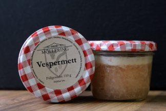 Vespermett vom Bunten Bentheimer Schwein (Frühstücksfleisch, Spam)